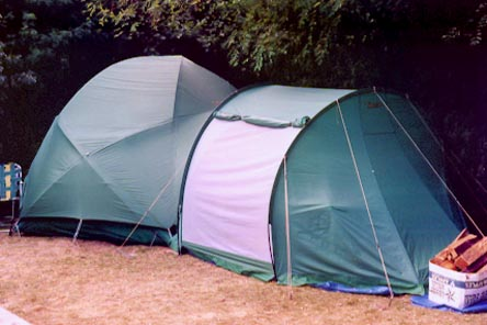 7b77dd37ad The Green Monster as I like to call it. It's an 8 person Cabela's Alaskan  Guide Tent